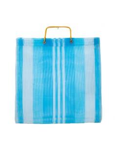 Bag shopping blue